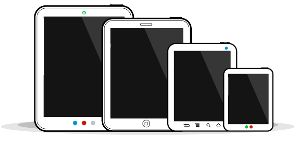 tablet sizes